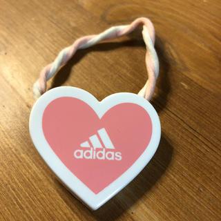アディダス(adidas)のadidas 非売品 ヘアゴム  ピンク(ヘアゴム/シュシュ)