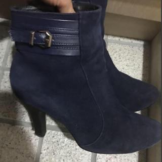 アカクラ(Akakura)のアカクラ  ネイビー ショートブーツ(ブーツ)