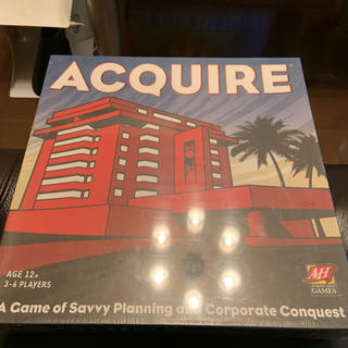 Acquire 英語 ゲーム 新品(人生ゲーム)