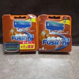 ジレ(gilet)の送料無料!Gillette/ジレット/5+1フュージョン/替刃/9個セット/新品(メンズシェーバー)