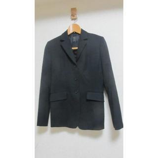コムサコミューン(COMME CA COMMUNE)の美品 9号 コムサ  ジャケット  黒(テーラードジャケット)
