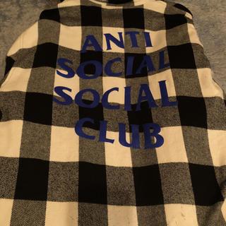 アンチ(ANTI)のASSC フランネルシャツ Lサイズ(シャツ)