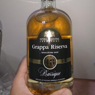 貴重な逸品 イタリアグラッパ   樽仕込み18年物(蒸留酒/スピリッツ)