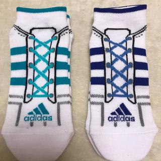 アディダス(adidas)の送料無料新品アディダスadidas福助スニーカーソックス靴下(ソックス)