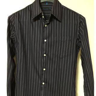 カスタムカルチャー(CUSTOM CULTURE)のストライプ柄 長袖シャツ(シャツ)