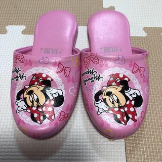 ディズニー(Disney)のミニーちゃん スリッパ(スリッパ)