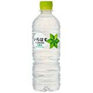 コカコーラ(コカ・コーラ)の い・ろ・は・す 天然水 555ml×24本  (ミネラルウォーター)