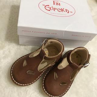 キャラメルベビー&チャイルド(Caramel baby&child )の子供靴 Eureka TwoEyes high cut  19(フォーマルシューズ)