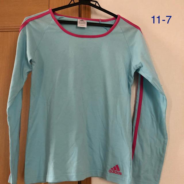 adidas(アディダス)のTシャツ レディースのトップス(Tシャツ(長袖/七分))の商品写真