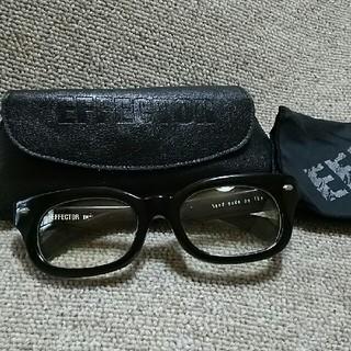 エフェクター(EFFECTOR)のEFFECTOR fuzz 眼鏡 ブラック刻印(サングラス/メガネ)
