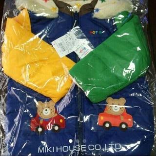 ホットビスケッツ(HOT BISCUITS)の♥新品♥ ミキハウス ホット ビスケッツ リバーシブル 中綿ジャケット 100(ジャケット/上着)