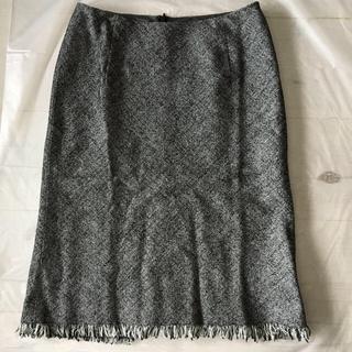 ノーベスパジオ(NOVESPAZIO)の新品 ノーベスパジオ マーメイドライン スカート 38(ひざ丈スカート)