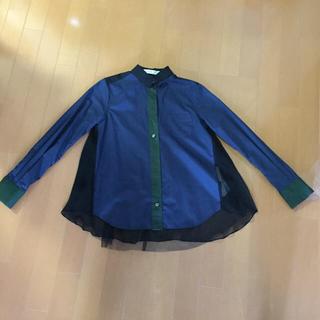 サカイラック(sacai luck)のsacai luck チュールシャツ(シャツ/ブラウス(長袖/七分))