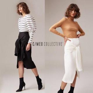 カメオコレクティブ(C/MEO COLLECTIVE)のC/MEOCOLLECTIVEタイトスカート(ひざ丈スカート)