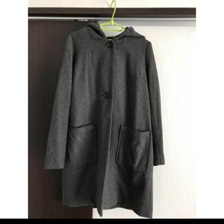 エルビーシー(Lbc)のLbc フード付きコート  濃いめのグレー(その他)