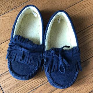 ジーユー(GU)のモカシン ブーツ 18センチ(ブーツ)