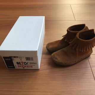 ミネトンカ(Minnetonka)の正規品 ミネトンカ キッズ ブーツ フリンジ 8(ブーツ)