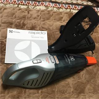 エレクトロラックス(Electrolux)のエレクトロラックス ハンディ掃除機 ラピード ウエットアンドドライ(掃除機)