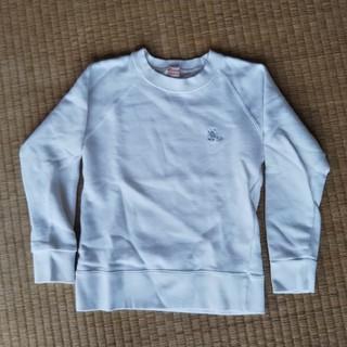 シャマ(shama)のshama maruta 白トレーナー 120(Tシャツ/カットソー)