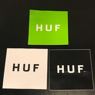 ハフ(HUF)のHUFステッカー3枚セット(その他)