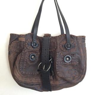ジャマンピュエッシュ(JAMIN PUECH)のジャマンピエッシュのバッグ むら染めフィルベール(ハンドバッグ)