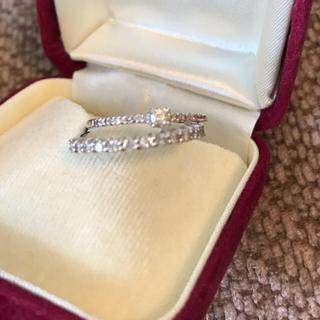 0.45 ダイヤモンド ハーフエタニティ 2本(リング(指輪))