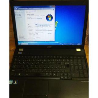 エイサー(Acer)の高性能i5搭載 acer 5760 4GB 250GB win7 15.6インチ(ノートPC)