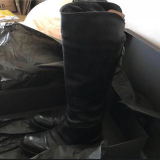 サルトル(SARTORE)のサルトル バックベルト 美脚ブーツ 黒(ブーツ)