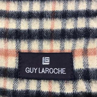 ギラロッシュ(Guy Laroche)のGuy Laroche  チェック マフラー(マフラー/ショール)
