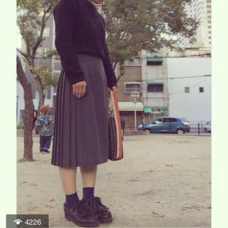 オニール(O'NEILL)のオニールオブタリン スカート グレー(ひざ丈スカート)