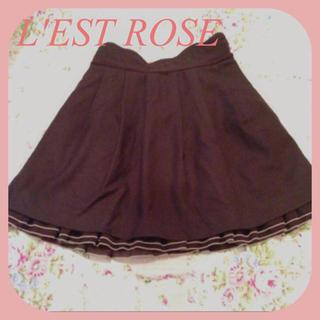 レストローズ(L'EST ROSE)のL'EST ROSE ⋈ スカート(ミニスカート)