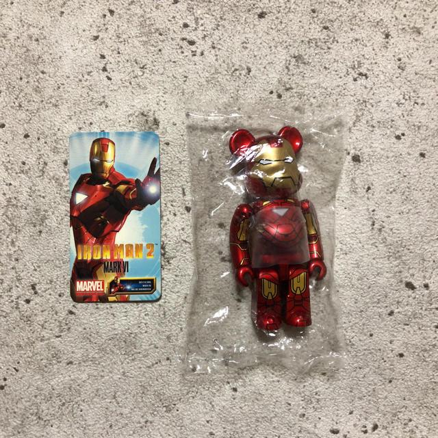 MEDICOM TOY(メディコムトイ)のメディコムトイ ベアブリック スパイダーマン アイアンマン USJ エンタメ/ホビーのおもちゃ/ぬいぐるみ(その他)の商品写真