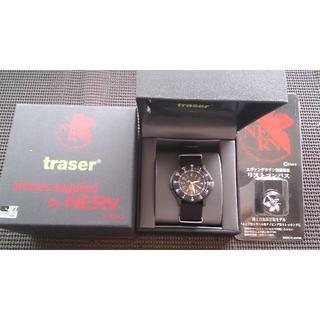 トレーサー(traser)のEVA×Traser TYPE6 (エヴァンゲリオン ミリタリーウォッチ)限定品(腕時計(アナログ))