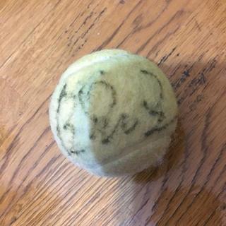 錦織圭選手 サインボール(練習球)(ボール)