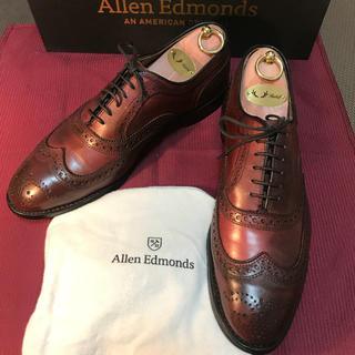 アレンエドモンズ(Allen Edmonds)の美品 アレンエドモンズ 27cm フルブローグ(ドレス/ビジネス)