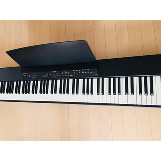 ヤマハ(ヤマハ)の早い者勝ち!YAMAHA P-80 電子ピアノ スタンド付き(電子ピアノ)
