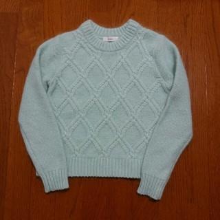 オペーク(OPAQUE)の美品 OPAQUE  パステル調きれい色ニット(ニット/セーター)