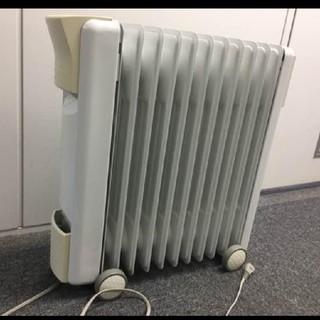 暖房先行セールeureks  オイルヒーター 安全カード付き(オイルヒーター)