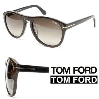 トムフォード(TOM FORD)の23TOM FORD ウェリントン ウッド柄フレーム サングラス(サングラス/メガネ)