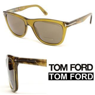 トムフォード(TOM FORD)の25 TOM FORD ウェリントン オリーブカラー サングラス(サングラス/メガネ)