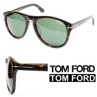 トムフォード(TOM FORD)の22TOM FORDウェリントン ブラック×ブラウンミックスカラーサングラス(サングラス/メガネ)