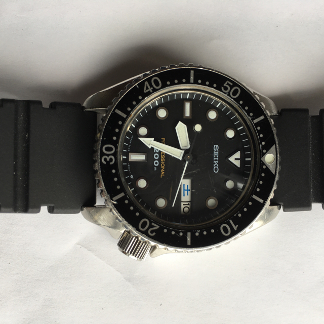 check out aa126 f27ec SEIKO セイコープロフェッショナル 200m ダイバーメンズ腕時計