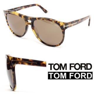 トムフォード(TOM FORD)の20TOM FORDウェリントンブラウンミックスカラーサングラス (サングラス/メガネ)