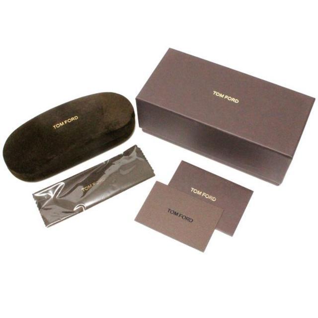 TOM FORD(トムフォード)の8TOM FORDブラウン系 スクエア メガネフレーム  メンズのファッション小物(サングラス/メガネ)の商品写真