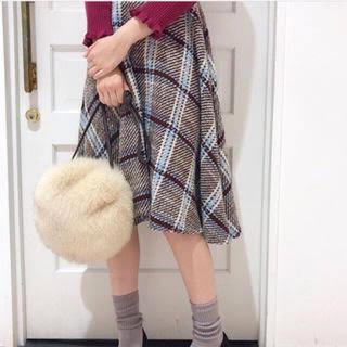 デイシー(deicy)のdeicy♡チェックフレアスカート(ひざ丈スカート)