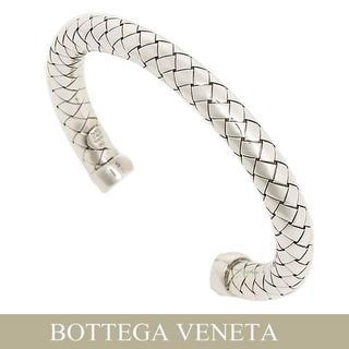 ボッテガヴェネタ(Bottega Veneta)の34BOTTEGA VENETAイントレチャートアンティークシルバーS(ブレスレット/バングル)