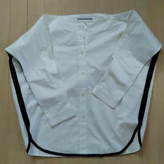 サカヨリ(sakayori)のパイピングシャツ(シャツ/ブラウス(長袖/七分))