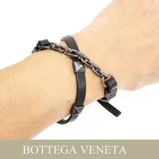 ボッテガヴェネタ(Bottega Veneta)の15BOTTEGA VENETAダブルループ ブレスレット(ブレスレット)