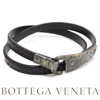 ボッテガヴェネタ(Bottega Veneta)の13BOTTEGA VENETAイントレチャート レザー ブレスレットM(ブレスレット)