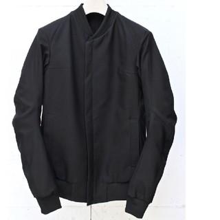デヴォア(DEVOA)のDEVOA Jacket Fine Count ポリエステルギャバジン美品(フライトジャケット)